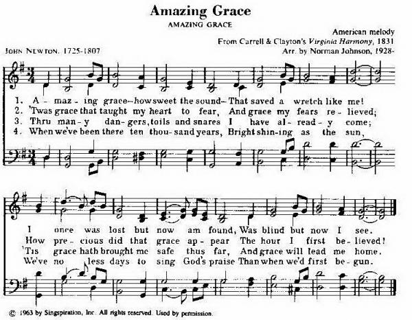 Old Hymns Amazing Grace 52